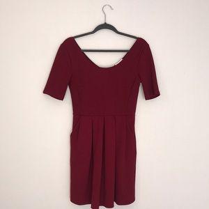 Dark red/maroon dress
